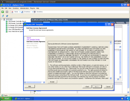 Barracuda Email Security Gateway 900 Vx Virtual Appliance
